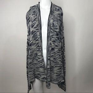 Simply Vera Vera Wang Long Sleeve Open Cardigan M